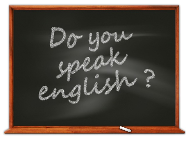 Why do most people have fear of speaking English in public?